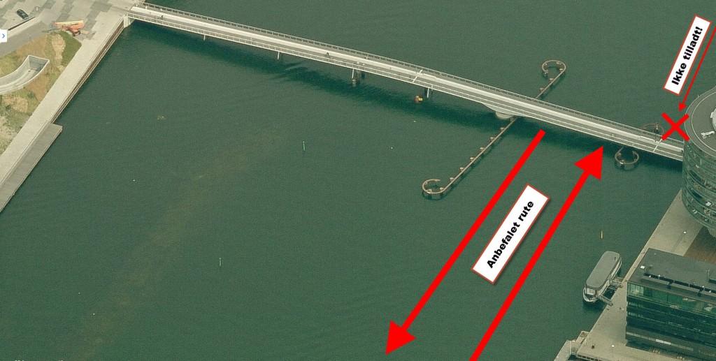 Bryggebro gennemsejling
